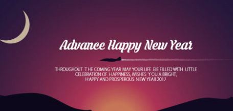 Happy New Year 2017 Messages for her husband in advance: