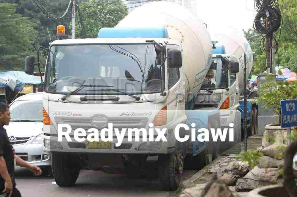 harga ready mix Ciawi