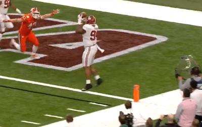 DaRon Payne touchdown catch vs Clemson