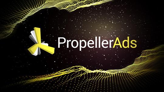 Рекламная сеть - PropellerAds. Проверено временем!