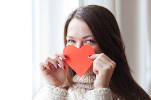 heart, love, lady