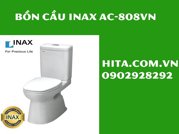 Giá, đặc điểm, kích thước bồn cầu Inax AC-808VN