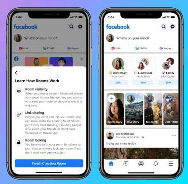 臉書 50 人免費視訊 Messenger Rooms 開放所有人使用