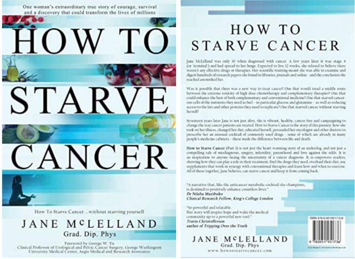 Book: Jane McLelland's Personalised Approach to Cancer Treatment, Prevention and Care