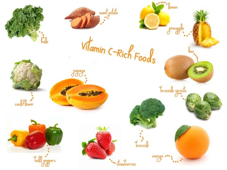 Foods That Are High In Vitamin C And E
