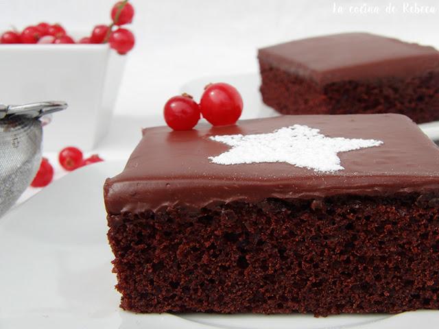 Crazy cake (tarta de chocolate)