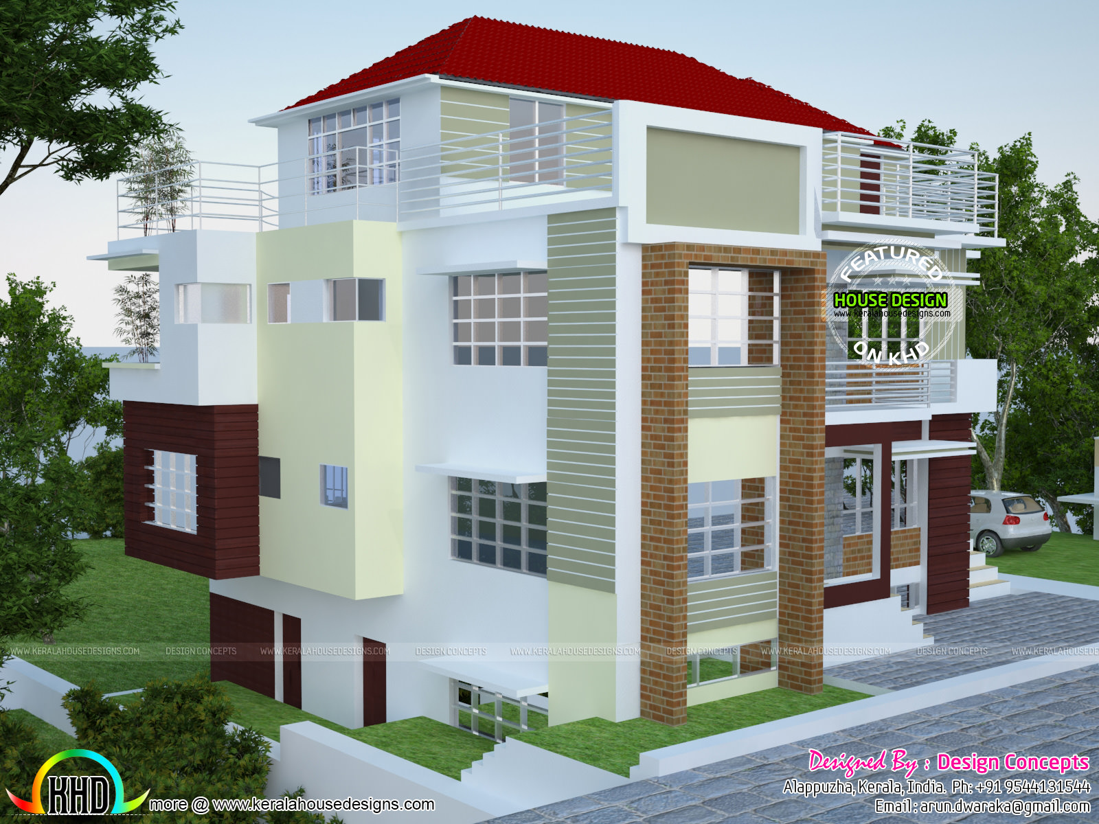 multi family 4 plex home plan kerala home design and floor plans multi family 4 plex home plan