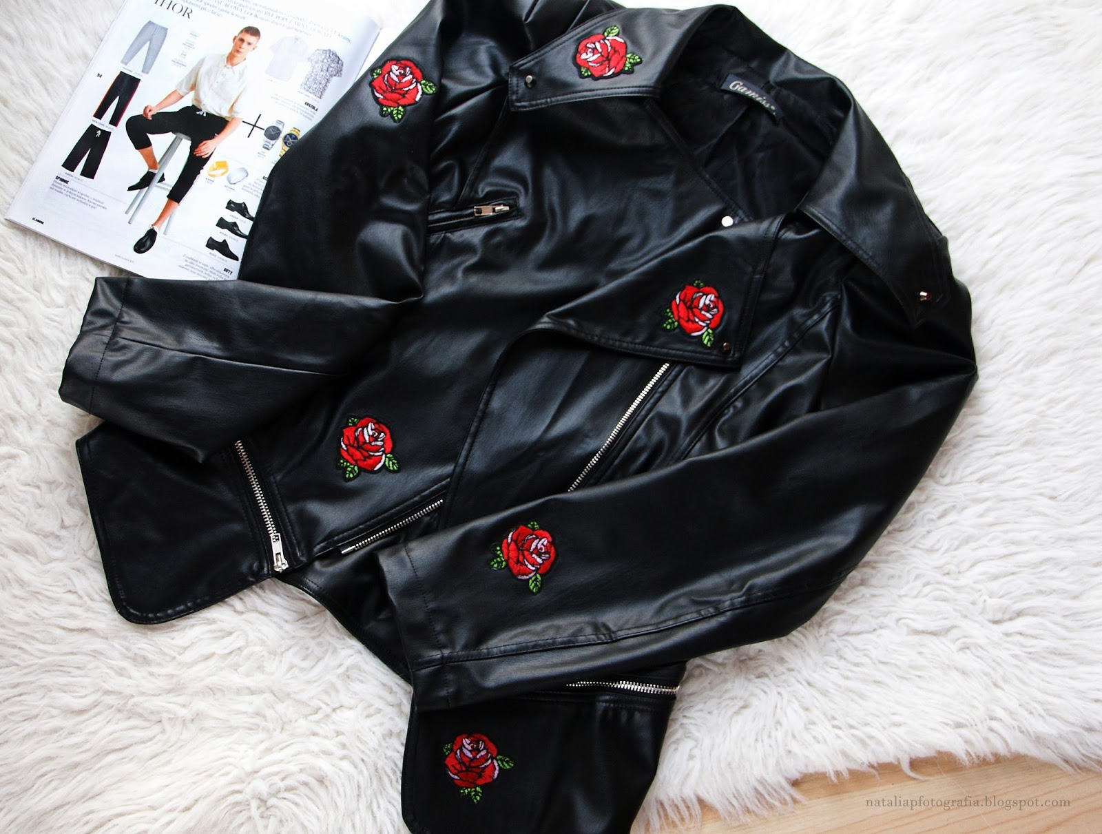 Ubrania z motywem róży | DIY