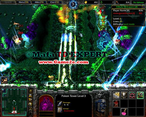 Mafa TD Queen v4.5 (UH) - Warcraft 3 Maps - Epic War.com