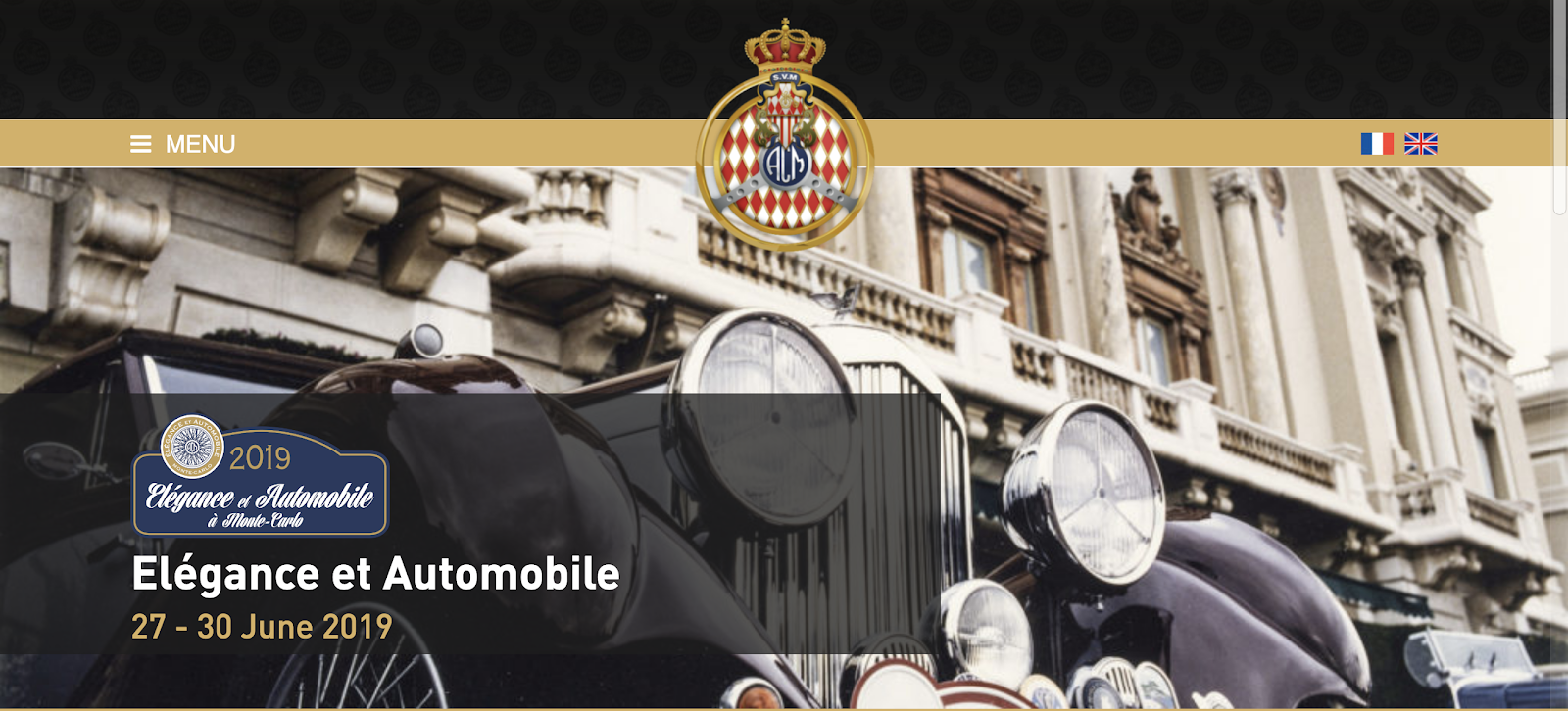 Elegance and Automobile Monte-Carlo 2019