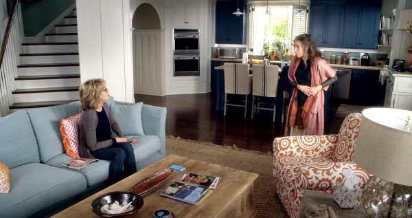 Grace and Frankie beach house interior