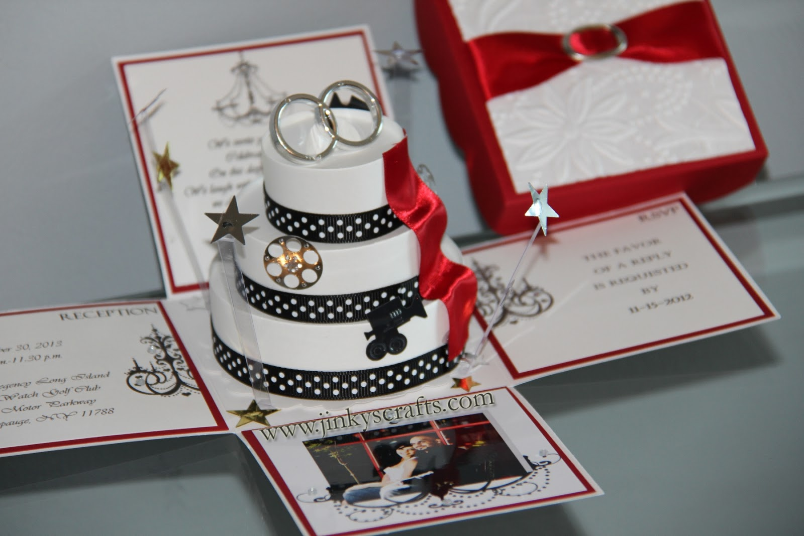 Wedding Invitation Picture Ideas: Jinky's Crafts & Designs: Hollywood Themed Wedding Invitations