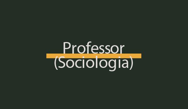 Prova de Concurso para Professor (Sociologia) com Gabarito