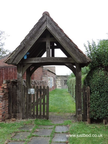 Lychgate St Marys Church Fridaythorpe