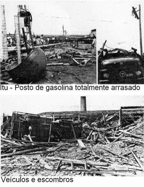 Zona de Risco: História:Tornado destrói e mata 15 pessoas em Itu