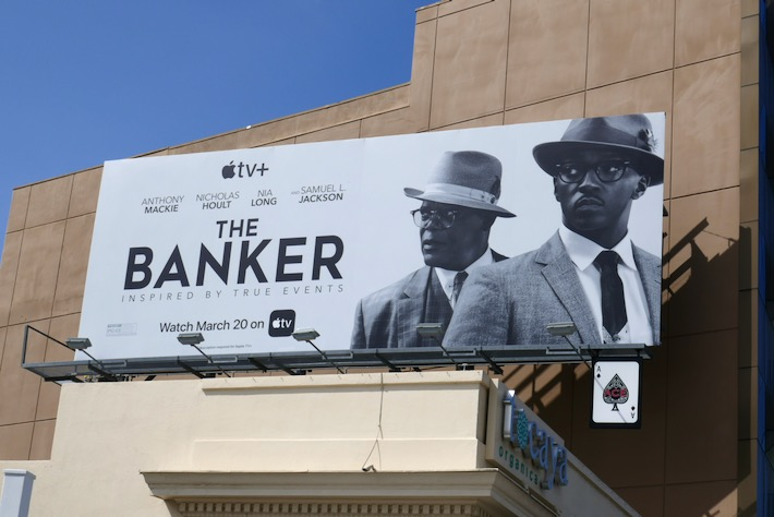 Banker AppleTV billboard