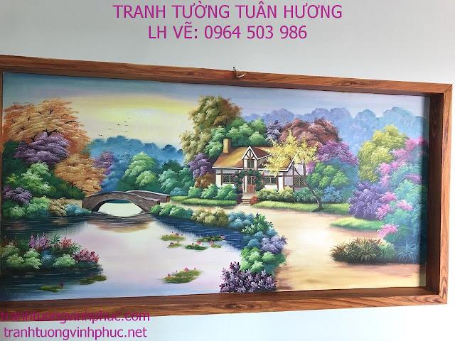 vẽ tranh tường tại xuân hòa phúc yên vĩnh phúc1