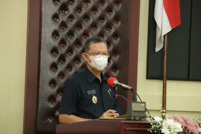 Gubernur Arinal Lantik Kepengurusan BKOW Provinsi Lampung Masa Bakti 2020-2025