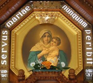 Obraz Matki Bożej Trzykroć Przedziwnej Bydgoszcz