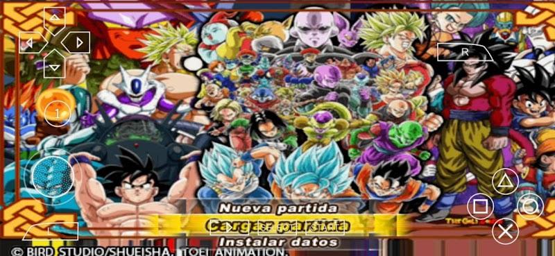 Dragon Ball Super Sagas Multiverse DBZ TTT MOD ISO Download