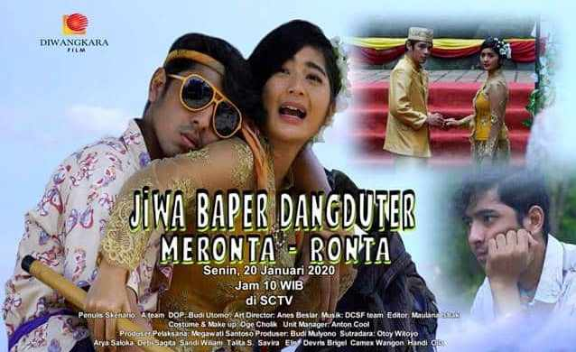 Daftar Nama Pemain FTV Jiwa Baper Dangduter Meronta-Ronta SCTV Lengkap