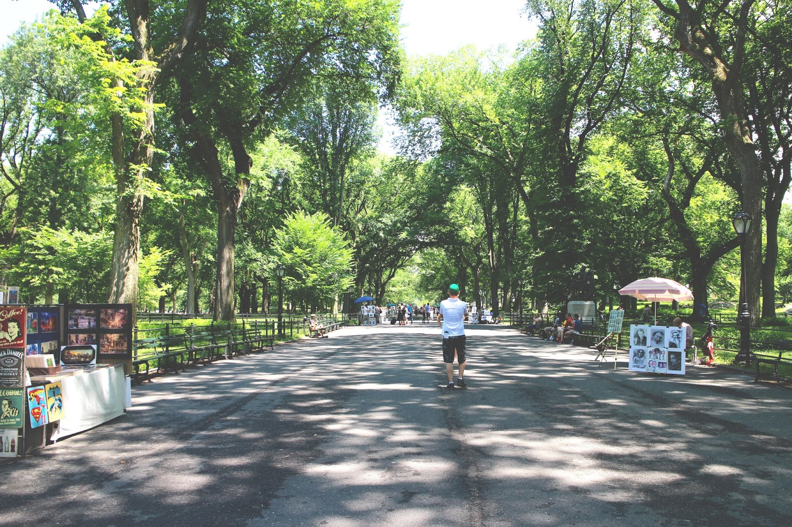 the mall central park
