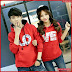 AKC251S56 Sweater Couple Hoodie Anak 251S56 Pasangan LOVE BMGShop