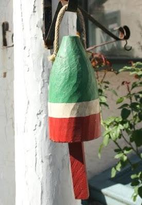 Christmas buoy