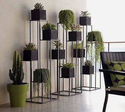 contemporary home indoor plants decor ideas 2019