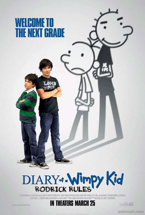 diary-of-a-wimpy-kid-creative-movie-poster-design