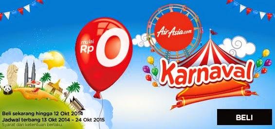 Harga Promo Tiket Pesawat Terbang Air Asia Terbaru ke Kuala Lumpur