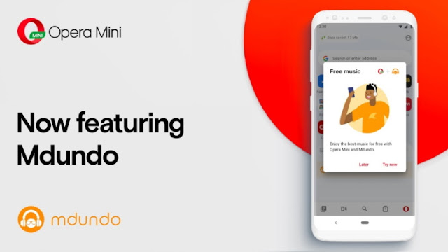 You Can Now Stream and Download Your Favorite Music with Opera Mini While Reading News