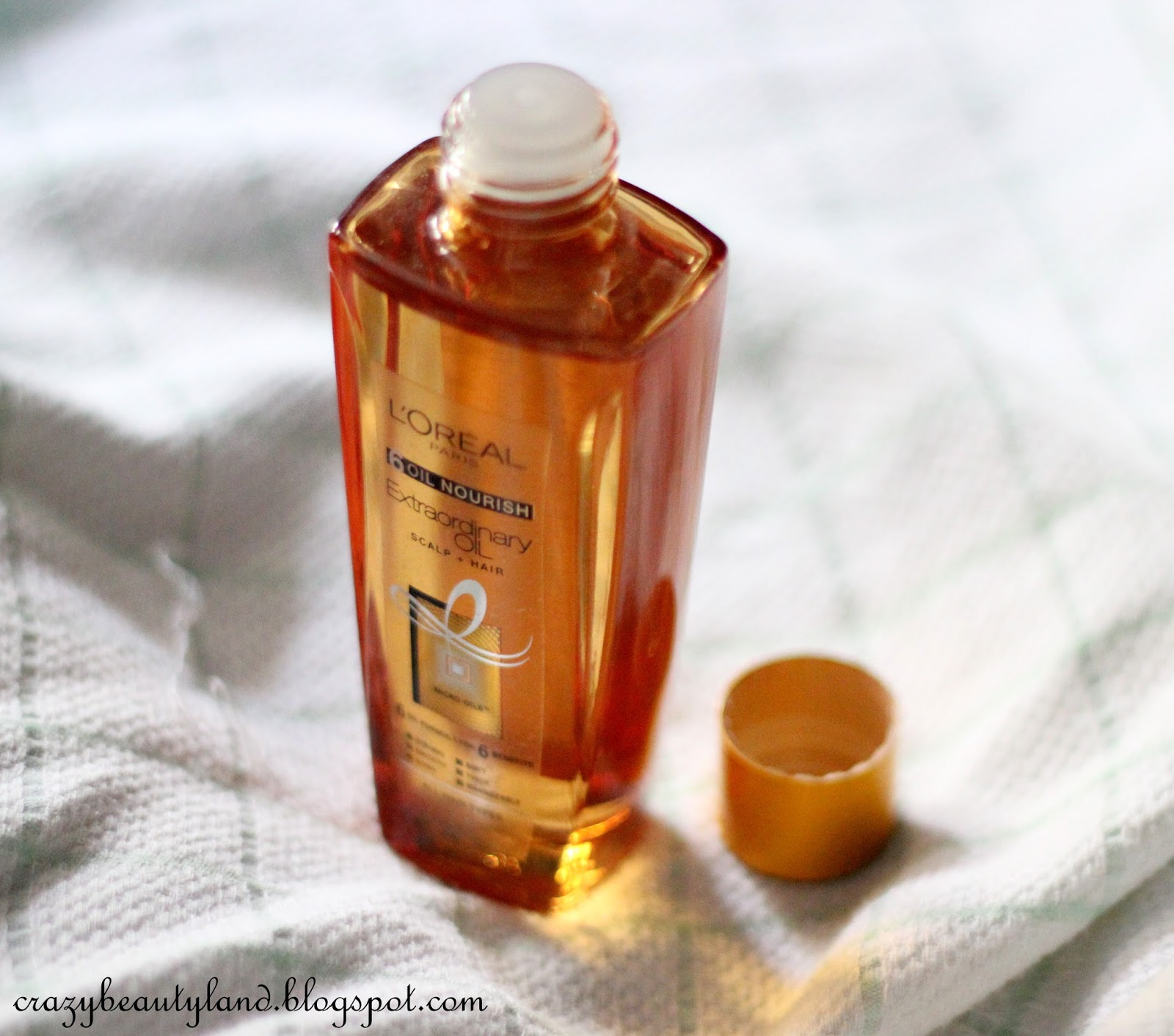 L'Oreal 6 Oil Nourish Extraordinary Oil Scalp+Hair in India - Review,photos,price, how to use it, thin oil, dry oil, dry hair oil,  oil treatment for hair, hair oil, argan oil reviews, hair care oil