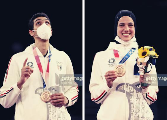 Seif Eissa and Hadeya Malak