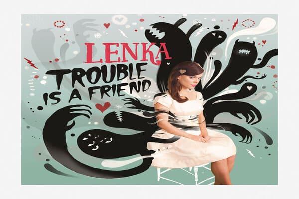 Lirik Lagu Lenka Trouble Is A Friend dan Terjemahan