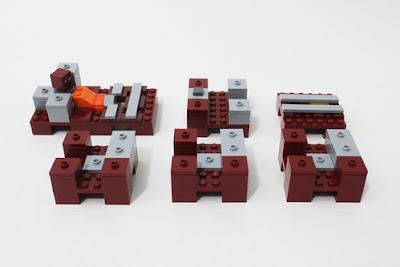 LEGO Minecraft 21130 Đường ray 4