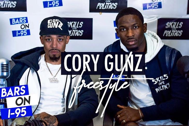 Cory Gunz Freestyles On Bars On I-95