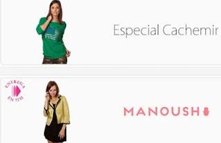 Manoush y cachemir en oferta hasta el 3 de noviembre