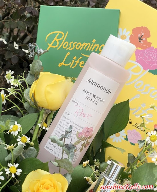 Mamonde, Blossoming Life, Mamonde Rosewater Toner, Red Energy Recovery Serum, Blu Experience the Flower Energy,  Augmented Reality, Mamonde, Beauty