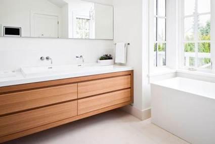 Wood Paneling Waterproof In Bathrooms 9