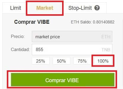 Tutorial Paso a Paso Comprar Moneda Virtual VIBE
