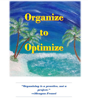 Everyday Vacay Part Two: Organize to Optimize