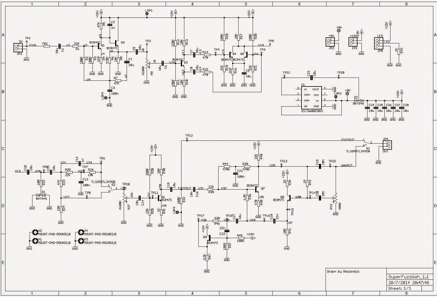 SuperFuzz_1.1.sch Univox Super Fuzz Wiring Diagram on gmc fuse box diagrams, battery diagrams, troubleshooting diagrams, electrical diagrams, series and parallel circuits diagrams, transformer diagrams, smart car diagrams, motor diagrams, led circuit diagrams, lighting diagrams, friendship bracelet diagrams, hvac diagrams, electronic circuit diagrams, switch diagrams, honda motorcycle repair diagrams, pinout diagrams, internet of things diagrams, sincgars radio configurations diagrams, engine diagrams,