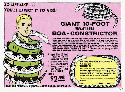 Giant 10-foot Inflatable Boa Constrictor