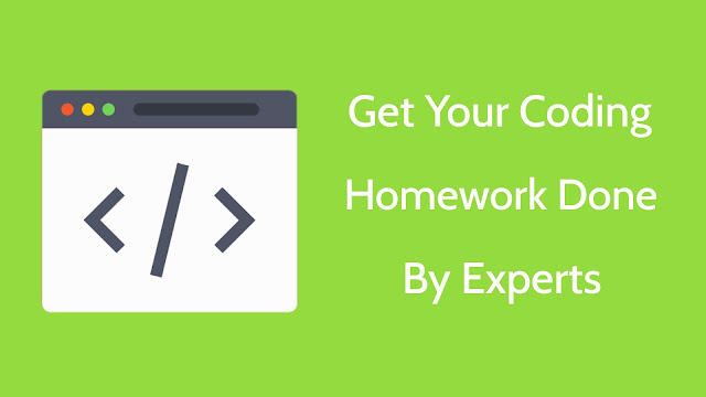 Get your coding homework done by experts online