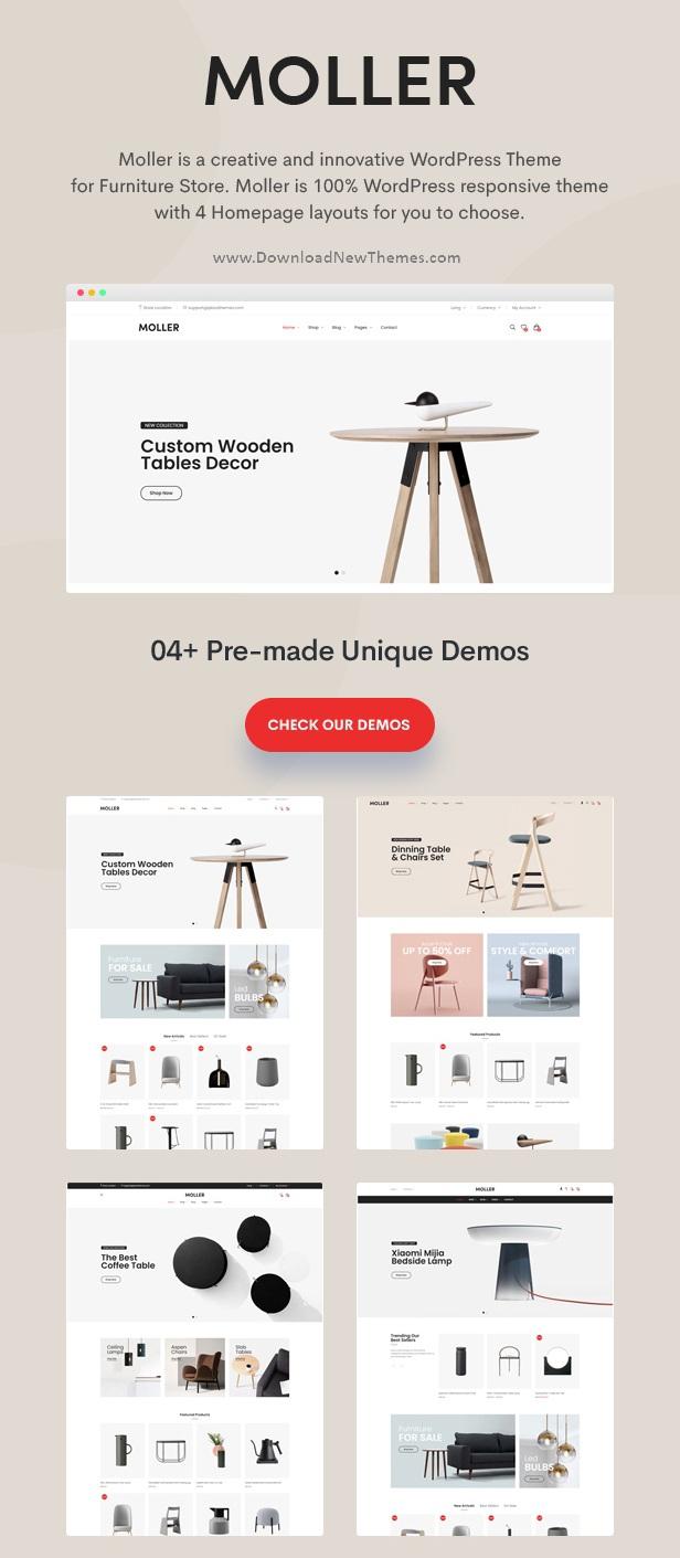 Furniture & Decor WooCommerce WordPress Theme