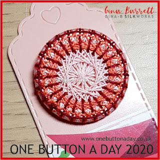 One Button a Day 2020 by Gina Barrett - Day 22: Cirque
