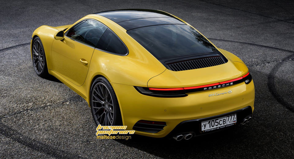 Last month, a handful of 2019 Porsche 911 prototypes were spotted ...