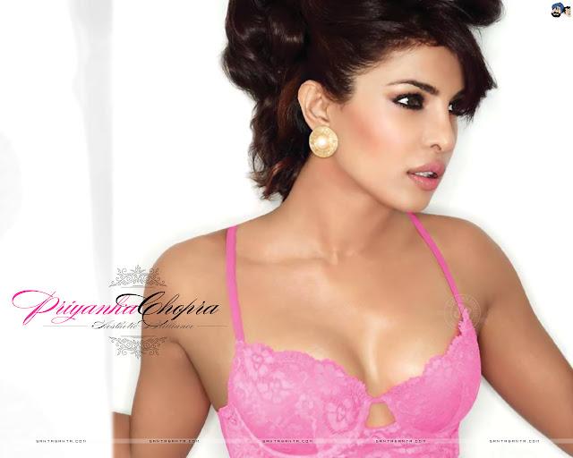 Priyanka Chopra Sexy Bikini Wallpaper
