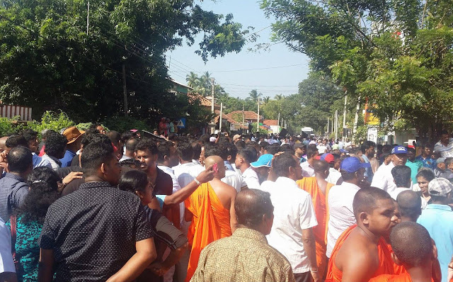 Tense situation erupts at SL -China Industrial Zone Development Project opening